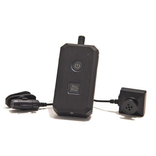 Kit complet caméra bouton avec micro enregistreur audio video