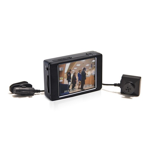 Kit micro enregistreur audio video portable caméra bouton