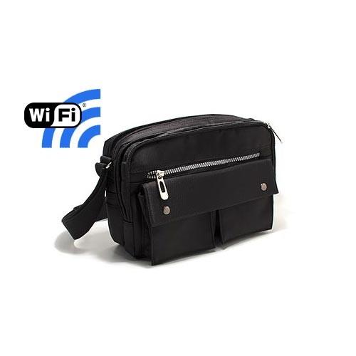 Sac pochette caméra cachée Wi-Fi FHD 1080P