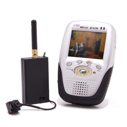 Kit micro caméra sans-fil et récepteur LCD