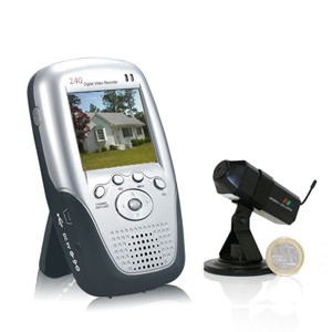 écran LCD et micro caméra autonome