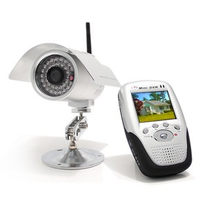 Kit caméra infra-rouge et récepteur sans fil 2,4 GHz