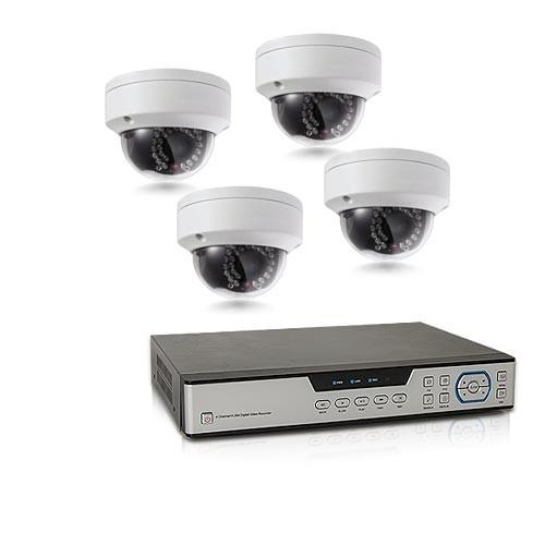 Secutec.fr Kit de vidéosurveillance intérieur/extérieur avec ...