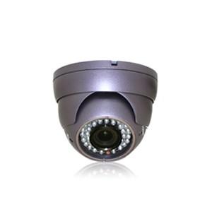 Caméra dôme antichoc couleur multi directionnel capteur CCD