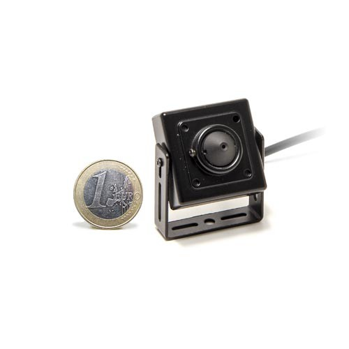 Mini caméra carrée HD 960P 1.3 Mégapixels, capteur basse luminosité, objectif pinhole