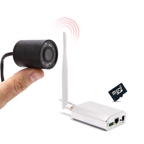 Micro caméra Waterproof 4G HD 1080P et SDHC avec détection et accès smartphone