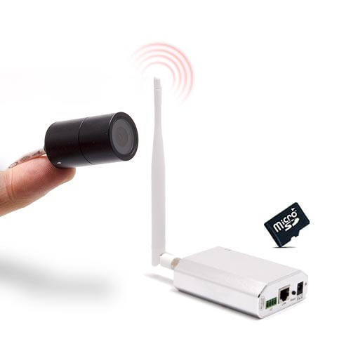 Micro caméra HD 720P IP 3G GSM et SD