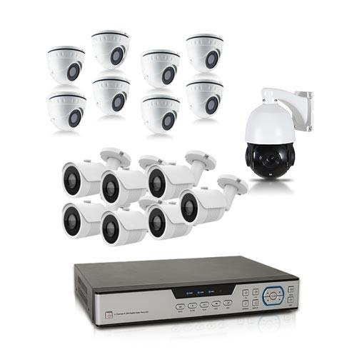 Kit video surveillance 1 To avec 16 cameras 700 lignes