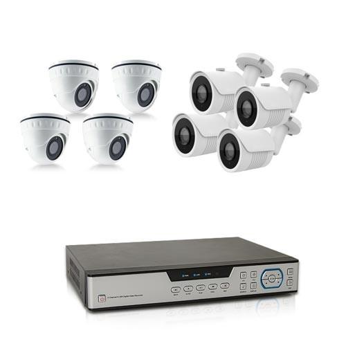 Kit video surveillance 1 To avec 8 cameras 500 lignes