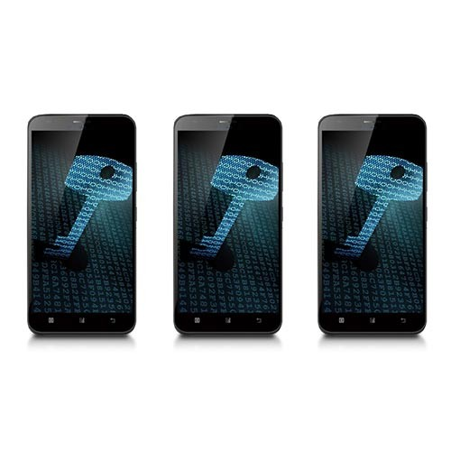 Ensemble de 3 téléphones cryptés