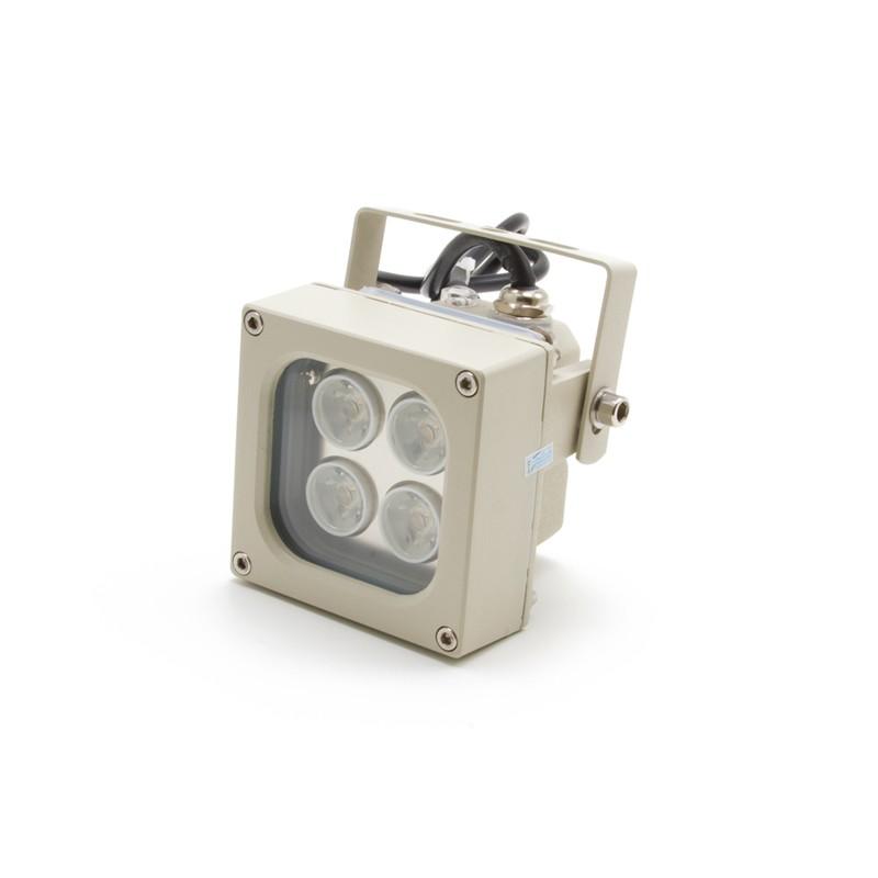 Projecteur infrarouge invisible 90° portée 20 mètres