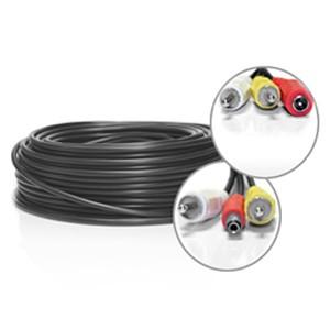 Câble RCA + Alimentation de 50 mètres