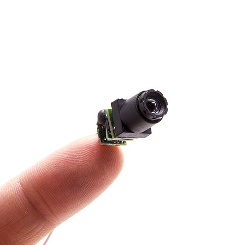 Micro caméra snake couleur 520 Lignes 90° 0.008LUX