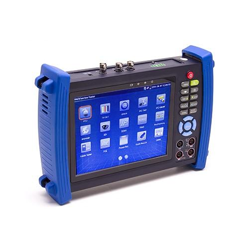 Testeur et scanner de caméra IP, analogique, HD-SDI avec écran tactile 7 pouces