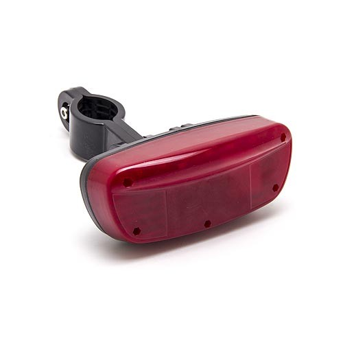 Balise GPS / GSM longue autonomie pour vélo cachée dans un feux arrière