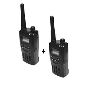 Kit de deux Talkies-walkies professionnels Norme IP67 et Waterproof