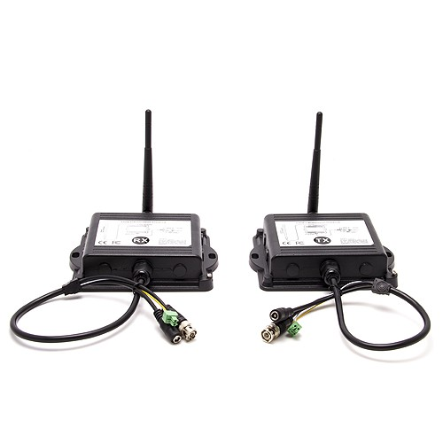 """Kit émetteur récepteur vidéo numérique 2.4 GHz """"Sans interférence"""" waterproof"""