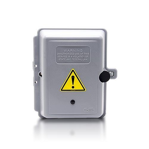 Boîtier électrique WiFi avec kit d'enregistrement HD 720P vidéo longue autonomie alerte sur mobile