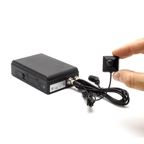 Enregistreur portable longue autonomie 1080P avec caméra bouton et détecteur PIR