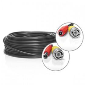 Câble vidéo BNC + alimentation de 15 mètres