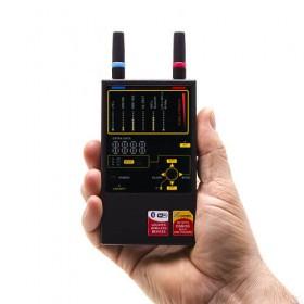 Détecteur de fréquences GSM : 2G 3G 4G LTE, WiFi, Bluetooth, Wi-Max, DECT