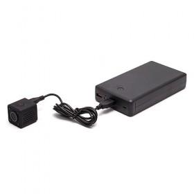 Kit micro caméra WiFi HD 1080P avec infrarouge invisible batterie longue autonomie 30A et microSD 32Go