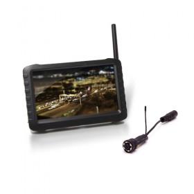 """Kit caméra snake infrarouge sans fil avec récepteur LCD couleur 5"""""""