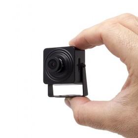 Mini caméra IP WiFi HD 1080P capteur 2MP 2.8mm 136° avec alarme audio et enregistrement sur carte micro SDHC
