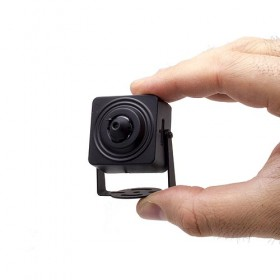 Mini caméra IP WIFI HD 1080P capteur pinhole 2MP 3.7mm 90° avec alarme audio et enregistrement sur carte micro SDHC