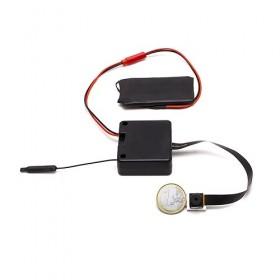 Micro caméra à integrer IP Wi-Fi P2P autonome HD 1080P avec carte microSD 64 Go