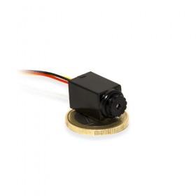 Micro caméra snake couleur 520 Lignes avec objectif pinhole sortie coaxial RCA A/V