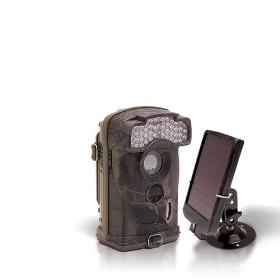Caméra de chasse autonome HD 1080P IR avec batterie solaire
