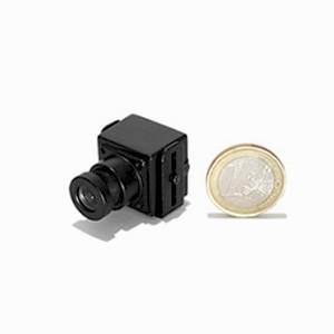 Micro caméra CCD couleur 420 lignes Jour-Nuit et objectif