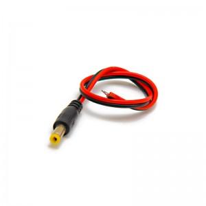 Connecteur DC mâle avec câble de 30 cm