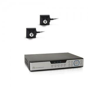 Kit vidéosurveillance 1 To avec 2 caméras cachées vis 700 lignes