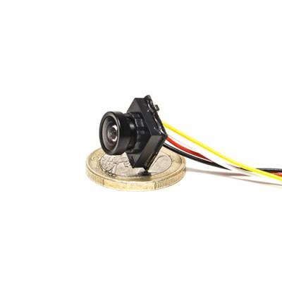 Mini caméra filaire HD 600 lignes grand angle 170°