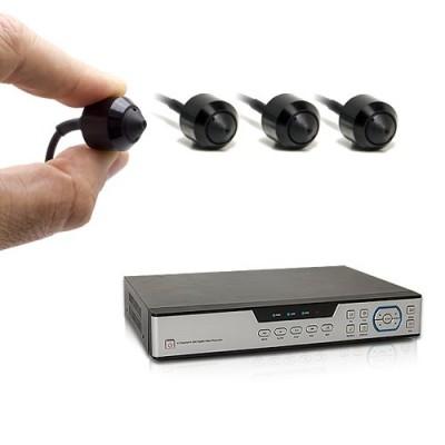 Kit enregistreur de vidéosurveillance et quatre caméras snake AHD 1080P