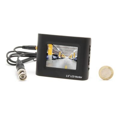 """Micro écran couleur LCD 2.5"""" testeurs caméras"""