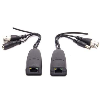 Câble balun RJ45 passif, vidéo, alimentation et données (PTZ)