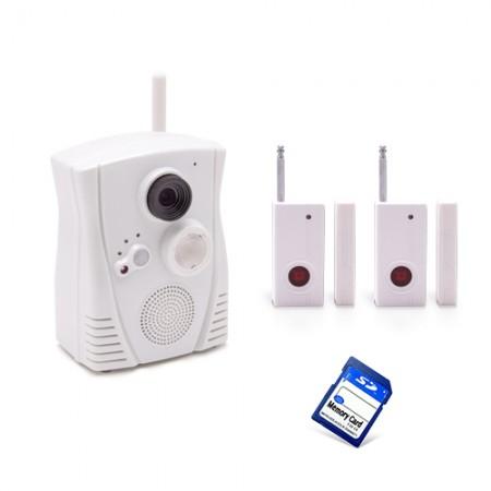 Caméra alarme WiFi HD détection de présences ouverture de porte 16 Go