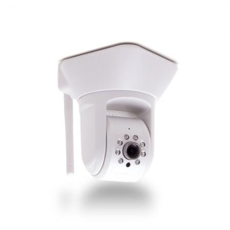 Caméra IP WiFi HD 960P pilotable avec détection de mouvement et carte SD