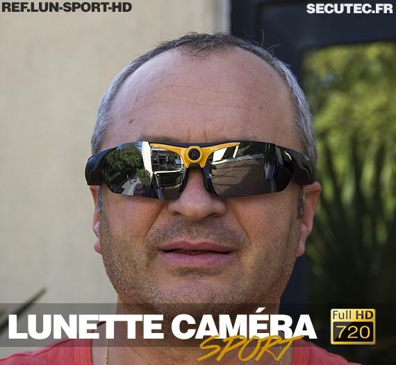 Lunettes caméra HD