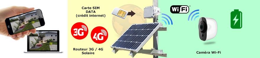 camera solaire 4g