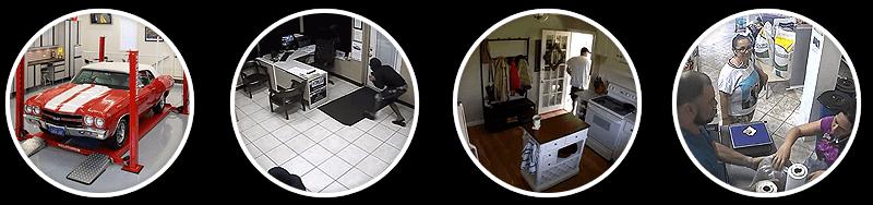 utilisation camera entrepot garage bureau