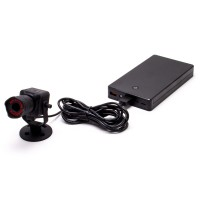 Kit mini caméra Wifi HD 720P longue autonomie zoom ×50 avec enregistrement sur carte microSD 64 Go