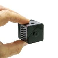 Micro caméra WiFi P2P HD 1080P longue autonomie avec détection de mouvement PIR et vision nocturne invisible 64 Go inclus