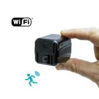 Micro caméra WIFI HD 1080P longue autonomie avec détection de mouvement PIR et vision nocturne invisible 128 Go inclus