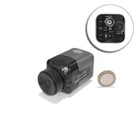 Mini camera filaire CCD ex-view couleur 520 lignes objectif C-CS