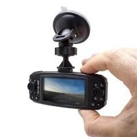 Caméra de conduite 2 caméra HD orientable avec vision nocturne IR ecran LCD 2.7 enregistrement microSD max.32 Go