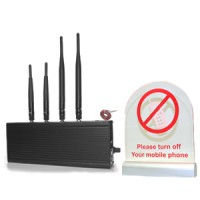 Détecteur de téléphone quadriband 2G - 3G avec avertissement lumineux et vocal